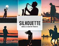 Free Silhouette Mobile & Desktop Lightroom Presets