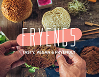 FRYENDS / Identity for vegan street food company