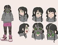 Original Character - Color sketch