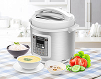 Arshia Electric Pressure Cooker
