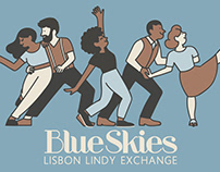Blue Skies - Lisbon Lindy Exchange 2018