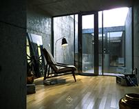 Tadao Ando - Azuma House // CGI