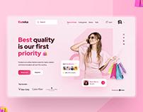 Eureka Shop UI Design