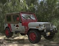 Jeep : Jurassic Park Origins