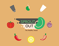 Branding & Packaging Graphic Design: Sprout Out