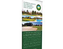 Roll-up Golf Club Castello Tolcinasco