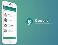 Qsecond | iOS chat app