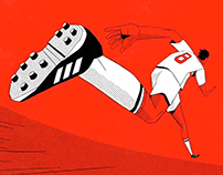 Adidas + SPFC - Generation lines