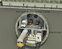 Road and Rail tunnel