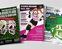 Tucson Roller Derby Posters