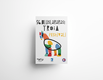 56th International Troia Festival Poster Design