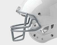Position-Specific Football Helmets