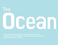 Ocean Depths Infographic