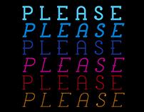 please font