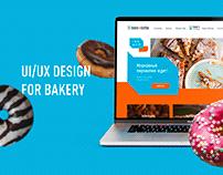 Baker & Coffee   UI/UX design