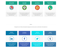 Info table Elements Edge WordPress Theme by Visualmodo