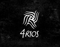 Ilustración y diseño gráfico - 4 Ríos