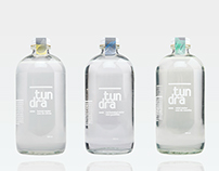 tundra water — packaging & branding