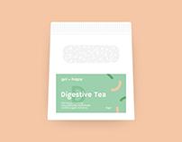 Gut Happy: Packaging Design