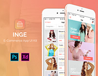 Inge E-Commerce App UI Kit
