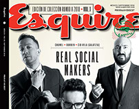 Real Social Makers - Cover Story for Esquire Magazine