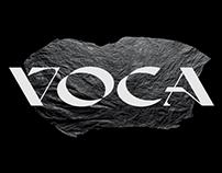 VOCA - DISPLAY FONT