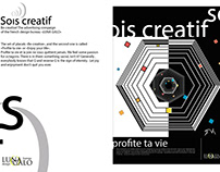 Be creative! The advertising compaign of design bureau