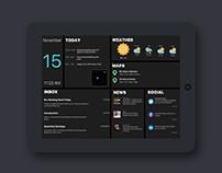 Daily UI Challenge #018 - Dashboard