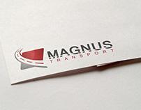 Magnus - logo dla firmy transportowej