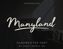 FREE | Maryland Handwritten Font