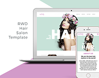 RWD Hair Salon Template