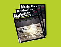 MARKETING MAGAZINE COVER DESIGN - SEPTEMBER ISSUE