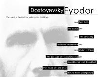 Dostoyevsky - Poster Design