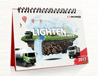 Lighten Your Ways 2017 Desk Calendar (Prototype)