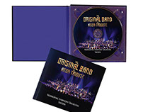DESIGN CD BOOK THE ORIGINAL BAND THE ABBA TRIBUTE