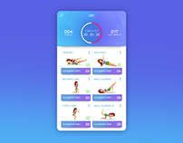 Concept UI - Fitness Workout App