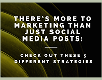 There's More to Marketing than Just Social Media Posts