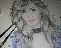 Demi Lovato Ilustration