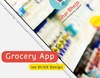 Grocery App, UI/UX Design for ios, android