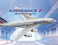 Air France - Airbus A380 : Video Mapping