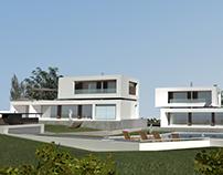 Three Houses in Epanomi, Thessaloniki, Greece