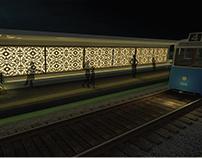 Mazloum tram station