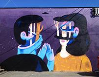 Handhug Mural, Vancouver