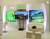 Genzyme exhibition stand