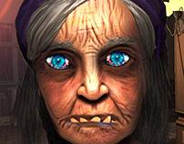 Scary Granny Neighbor