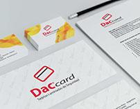 Dac Card, Diseño de Logotipo y Papelería