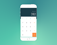 Calculator | Daily UI #13