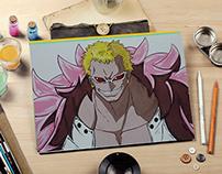 Gouache Anime Character Design