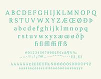 Selsdon Typeface