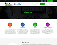 Website Themes Design for Software development Company